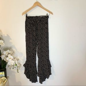 Lucy Love Floral Ditsy Print Seville Ruffle Pants